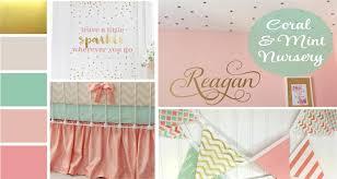 c blush mint gold nursery ideas
