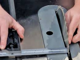 How To Align A Table Saw Blade Table Saw Repair Table Saw Blade And Miter Slot