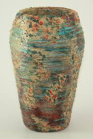 Coiled vase with Texture by Margaret Adele Parker - SDA Copy - Surface  Design Association Surface Design Association