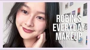 robin s simple everyday makeup tutorial