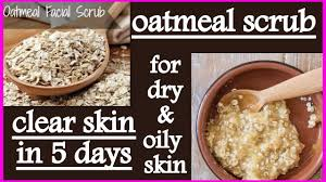 face scrub for dry and oily skin