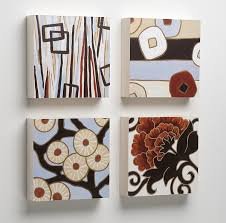 Arya, Lu, Lynne, Hilary Wood Tiles for the Wall by Karen Deans (Pigment  Print on Wood) | Artful Home