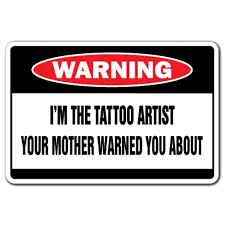 I M The Tattoo Artist 3 Pack Of Vinyl Decal Stickers For Laptop Car Walmart Com Walmart Com