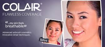 cover scars with airbrush makeup