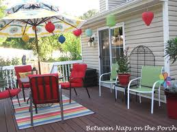 decorate your deck for summer parties