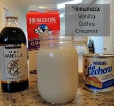 homemade vanilla creamer a reinvented mom