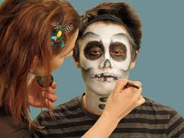 halloween makeup tutorial skeleton