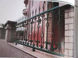 Ornate Wrought Iron Fence In Black With Unique Posts More Ideas About Wrought Iron Fences Buy At The Price Of 115 00 In Aliexpress Com Imall Com