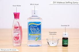 diy makeup setting spray pocket skin
