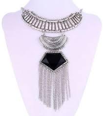 multi layer maxi necklace fine jewelry
