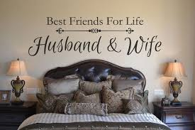 Master Bedroom Husband And Wife Best Friends Are We Wall Decal Vinyl 4 Decor