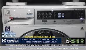 Làm gì máy giặt Electrolux báo lỗi e31