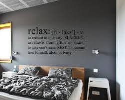 Relax Wall Decal Relax Bathroom Wall Decal Wall Decor Relax Etsy
