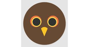 Cute Halloween Owl Sticker For Pop Socket Zazzle Com