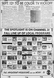 Wcax Going Color In 1965 Newspapers Com