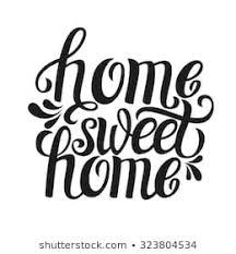 imagenes fotos de stock y vectores sobre sweet home quote