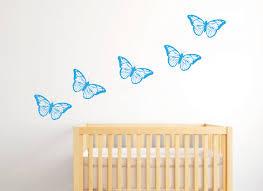 Large Butterfly Wall Stickers Girls Wall Stickers Nursery Wall Stickers