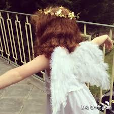 easy diy angel wings the craft train