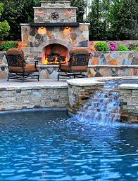 25 swimming pool with waterfalls ideas