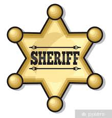 Sheriff Badge Sticker Pixers We Live To Change