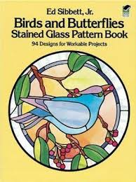 erflies stained glass pattern book