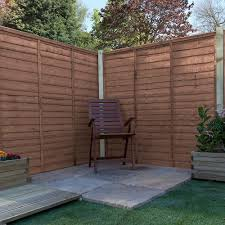 Mercia 5ft High 1524mm Mercia Waney Edge Lap Fence Panels Pressure Treated Waney Edge Lap Elbec Garden Buildings