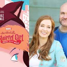 Utah authors Shannon and Dean Hale share the story of an unexpected  superhero in 'The Unbeatable Squirrel Girl' - Deseret News