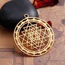 whole copper sri yantra meditation