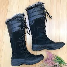 tall leather boots womens