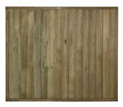 5ft High Forest Vertical Tongue And Groove Fence Panel Pressure Treated Elbec Garden Buildings