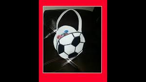Diy Como Hacer Dulcero De Balon Futbol Youtube