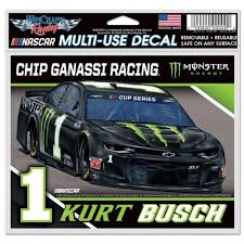 1 Kurt Busch 5 X6 Monster Energy Car Decal Kurt Busch Official Retail Store