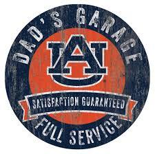Auburn Tigers 12 X 12 Dads Garage Sign