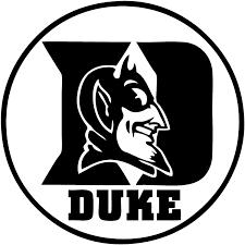 Amazon Com Duke University Vinyl Decal Sticker For Car Or Truck Windows Laptops Etc 6 White Kitchen Dining
