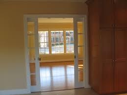 pocket french doors interior