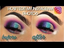 how i edit my insram photos 2019
