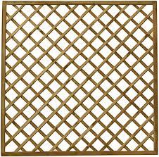 Waltons Wooden Fence Panels 6x6 Diamond Trellis Garden Fencing Pressure Treated 6 X 6 6ft X 6ft Amazon Co Uk Garden Outdoors