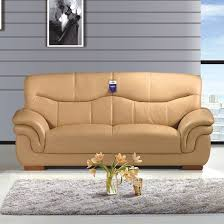 sofa simple first layer cowhide