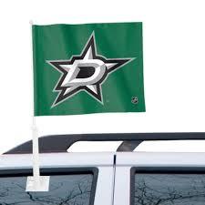 Dallas Stars Wincraft 11 X 13 Two Sided Car Flag
