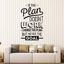 Inspire Office Decoration Motivation Wall Stickers Mural Vinyl Decal Bedroom Inspirational Quote Wall Decals Room Decor S654 Room Decoration Quote Wall Decalsticker Mural Aliexpress