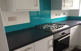 glass splashback in any ral or dulux colour