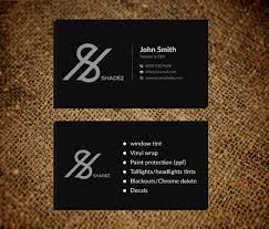 Bold Serious Automotive Business Card Design For A Company By Musa A Design 22694455