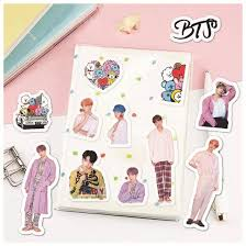 Bt21 And Bts Stickers Sd Style Shop