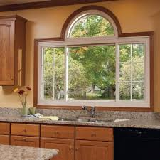 fiberglass windows with stained wood
