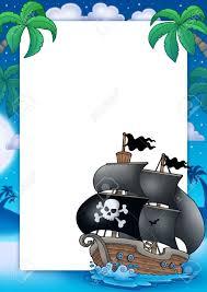 Stock Photo Decoracion De Piratas Piratas Preescolar Pirata