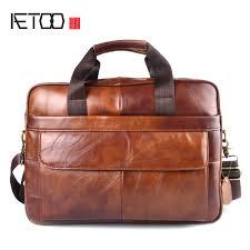 aetoo genuine leather real leather