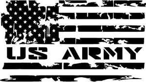 Distressed Military Service Branch American Flag Premium Vinyl Decal American Flag Decal Vinyl Decals Vinyl