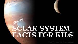 solar system facts for kids planets