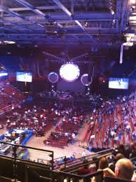 section 111 at mohegan sun arena for