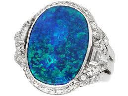 antique 3 83 ct black opal 1 15 ct